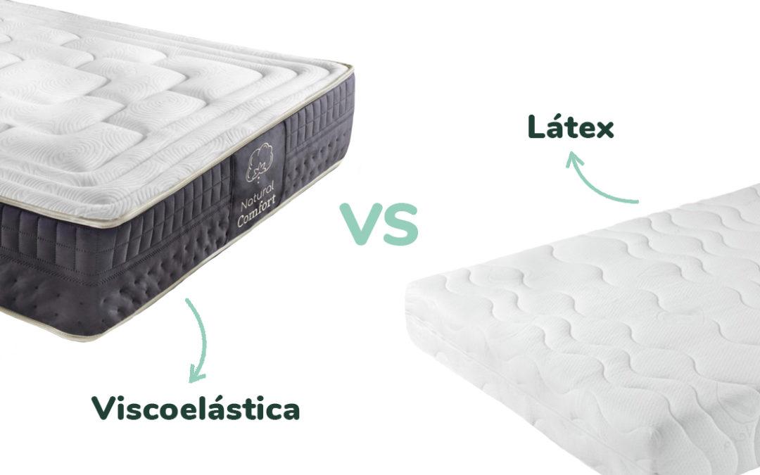 Diferencias entre Viscoelástica y Látex